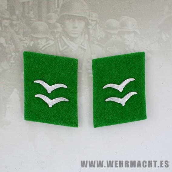Parches de cuello Felddivision, Gefreiter/Unterfeldwebel
