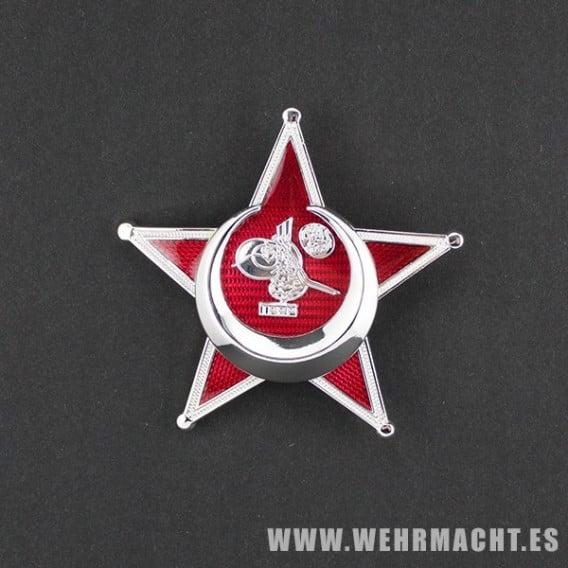 Medalla de Guerra Otomana, 1º Clase