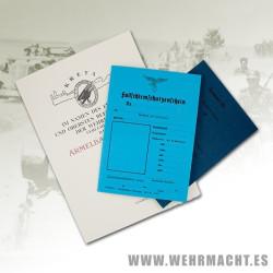 Documentación del Fallschirmjäger