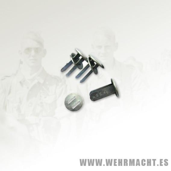 Remaches para casco alemán