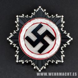 German Cross in Silver (Deutsche Kreuz)