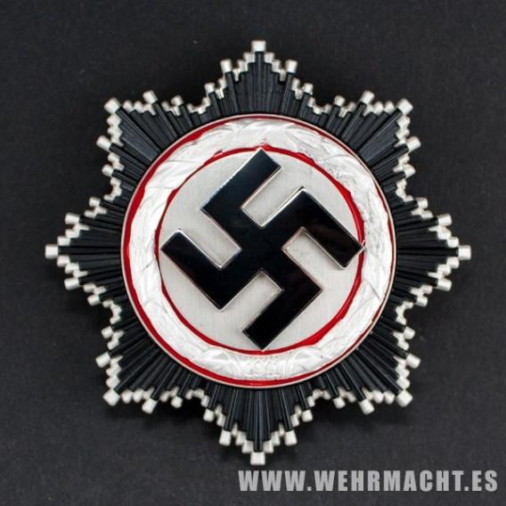 Cruz Alemana en Plata (Deutsche Kreuz)