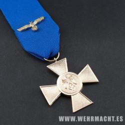 Medalla 25 años de servicio Wehrmacht