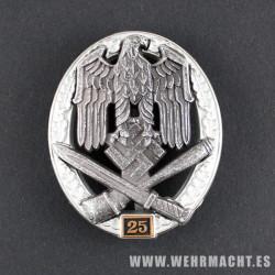 Asalto general, 25 acciones
