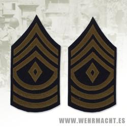 U.S. First Sargeant Chevron (Wool)