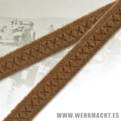 Cinta algodón de 8mm para cuello, Afrika Korps