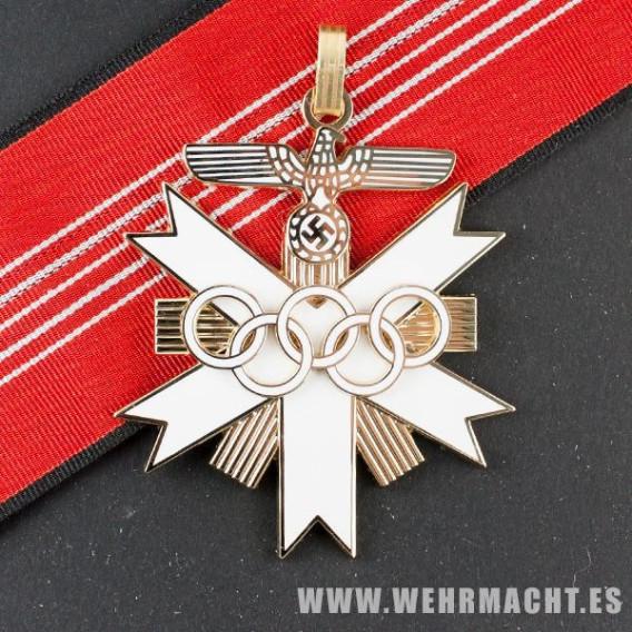Medalla de los Juegos Olímpicos de 1936, 1ª clase