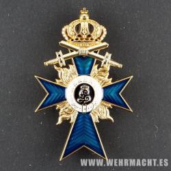 Cruz para Oficiales al Mérito Militar con espadas (Bavária)