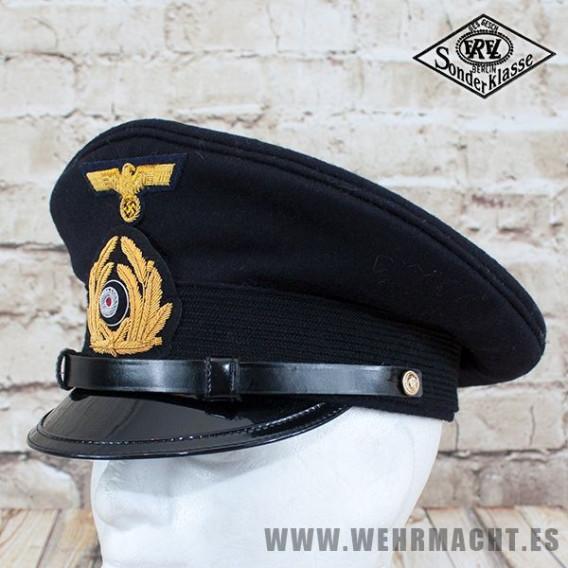 "Gorra de plato Kriegsmarine ""Bootsmann"" - EREL®"