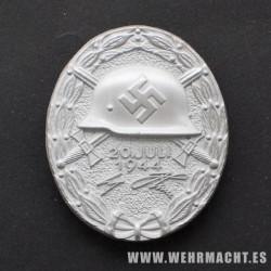 Medalla de Herido 20 de Julio de 1944 (plata)