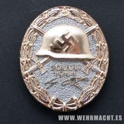 Medalla de Herido 20 de Julio de 1944 (oro)