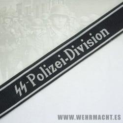 «SS-Polizei Division» EM Cuff Title