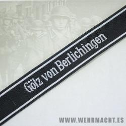 «Götz von Berlichingen» EM Cuff Title