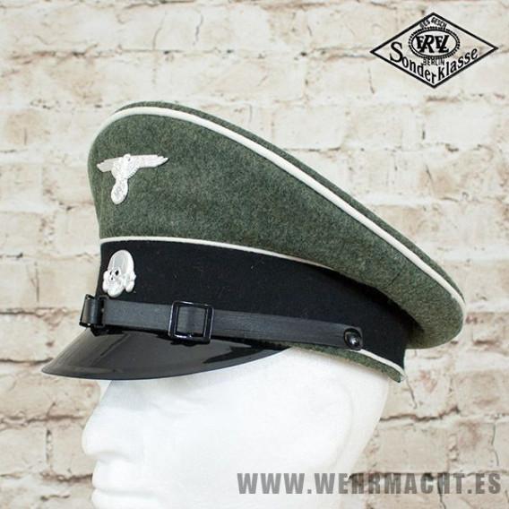 Gorra de plato Waffen-SS Tropa y Suboficiales - EREL