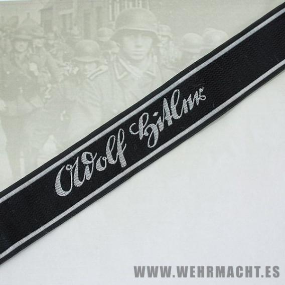 Waffen SS 'Adolf Hitler' Cuff title - BeVo