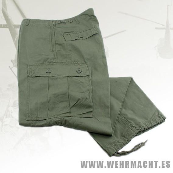 Pantalones de combate OD M64, U.S. Vietnam