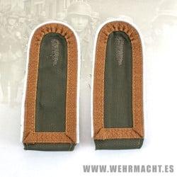 DAK Shoulder Boards for 'Unterfeldwebel'