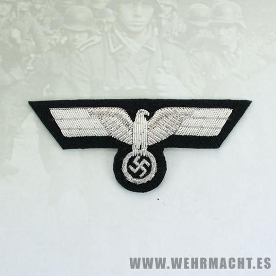 Aguila de pecho para oficiales Panzer