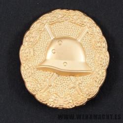 Medalla de Herido 1918 (oro)