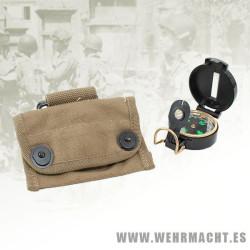 Brújula Lensatic + Bolsa U.S.