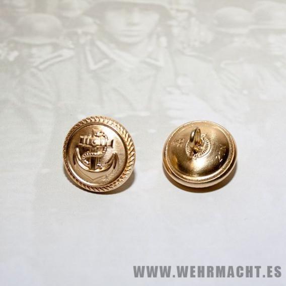 Botones Assmann de rosca Kriegsmarine, 21mm