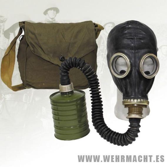 Mascara de gas Rusa GP5 con funda
