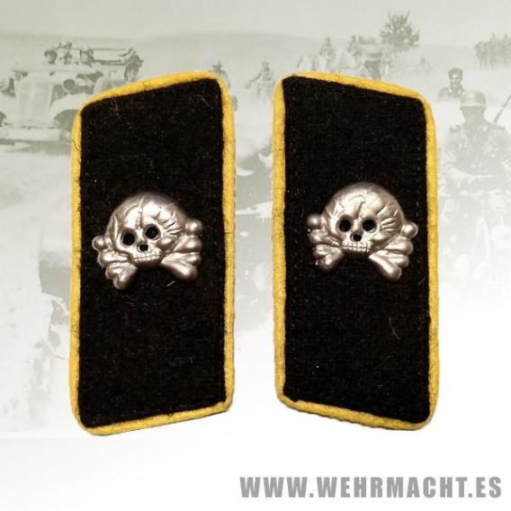 Parches de cuello Panzer Caballería