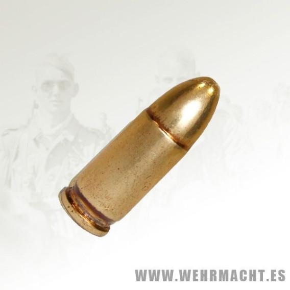 Bala inerte para la Luger P08
