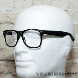 Gafas de pasta con montura negra