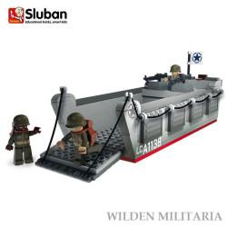 Sluban WWII Landingcraft M38-70070