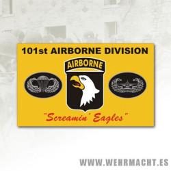 Airborne 101st Screamin' Eagles Polyester Flag