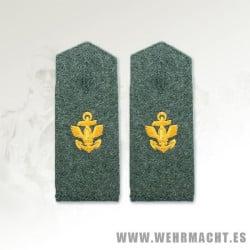 Kriegsmarine Artillerie Coast EM Shoulder Boards