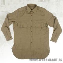 """Camisa de servicio """"Mostaza"""" para oficiales"""