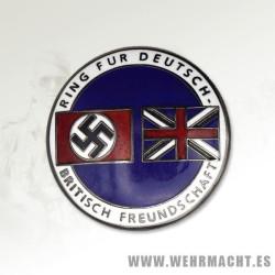 German British Friendship Union Badge