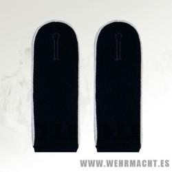 Black EM Shoulder Boards Waffen SS or Panzer