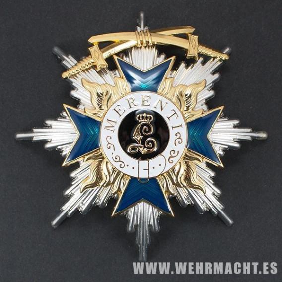 Orden al Mérito Militar 1ª clase con espadas (Baviera)