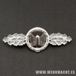 Distintivo de vuelo de bombardeo (Plata)