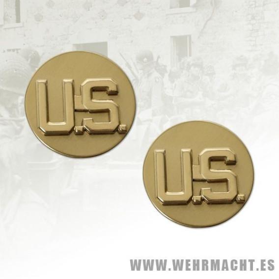 U.S. Collar Insignia EM, Pair