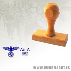 Sello de madera - Wa.A 652