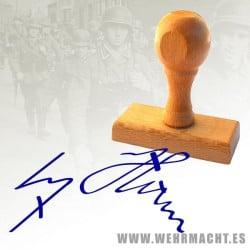 Rubber Stamp - Adolf Hitler Signature