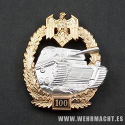 Asalto de blindados Panzer, 100 acciones