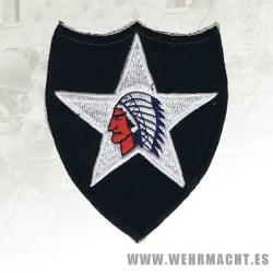 Parche de brazo de la 2ª División de Infanteria