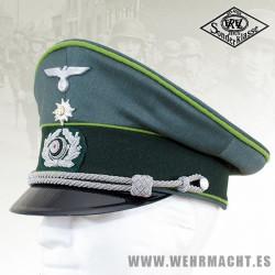 Gorra de plato Gebirgsjäger para Oficial - EREL®