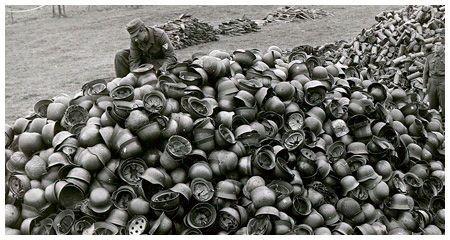 Cascos de combate alemanes